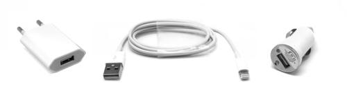 UNOTEC Set Cargador Lightning para Apple iPhone