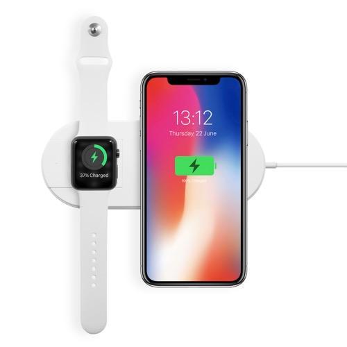 UNOTEC Cargador de Inducción para Smartphone y Apple Watch