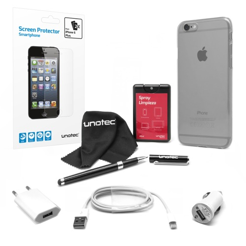 UNOTEC Pack Esencial para iPhone 6 Plus