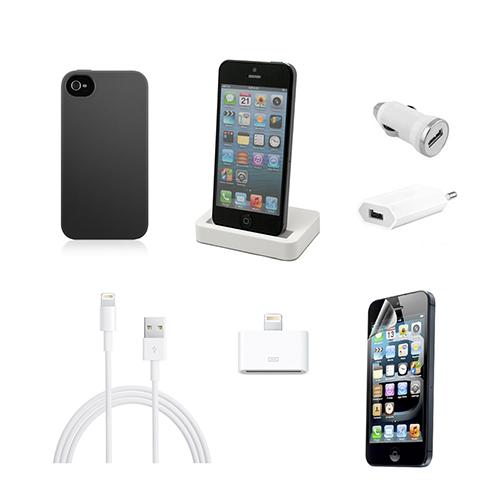 UNOTEC Pack Esencial de iPhone 5/5S/5C