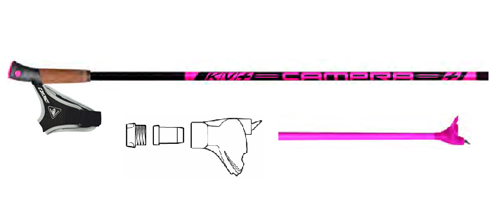 KV+ Campra Pink Clip 30% Carbon QCD