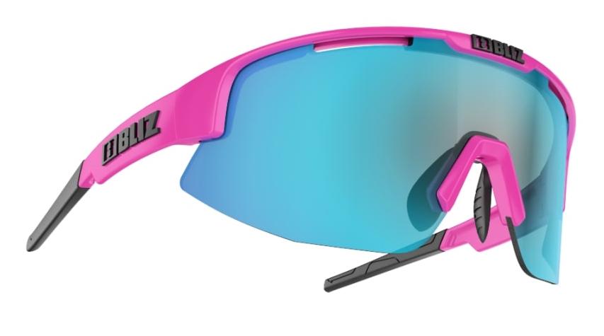 BLIZ Matrix Pink Smoke W Blue Multi