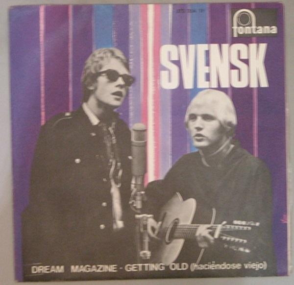 "Universal Music SINGLE Svensk ""Dream magazine"""
