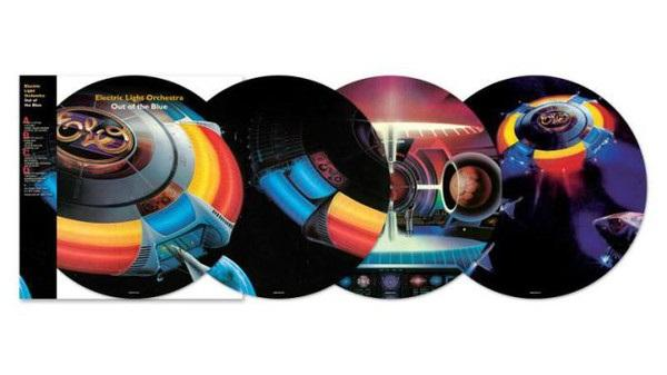 "Sony Music PICTURE DISC Electric Light Orchestra ""Out of the blue"" 2LP"