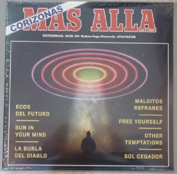 """EP 12"""" CORIZONAS """"MÁS ALLÁ DE NDV"""""""