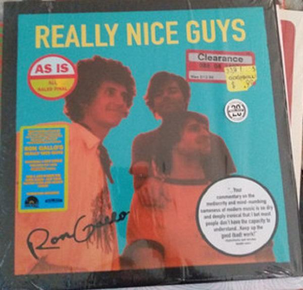 """EP 12'' RON GALLO """"REALLY NICE GUYS"""""""