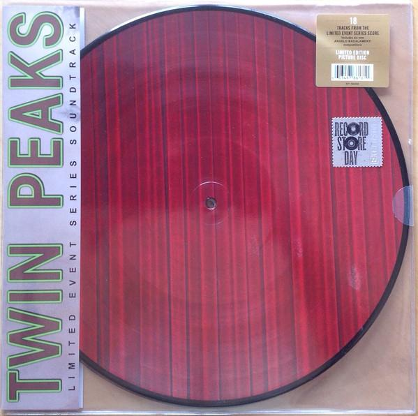 "Rhino PICTURE DISC 2LP VARIOS ""TWIN PEAKS - LIMITED EVENT SERIES SOUNDTRACK"""