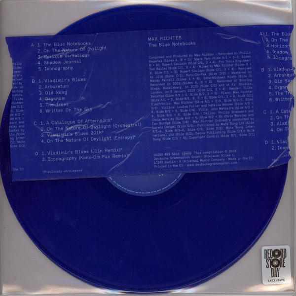 """2LP MAX RICHTER """"THE BLUE NOTEBOOKS"""""""
