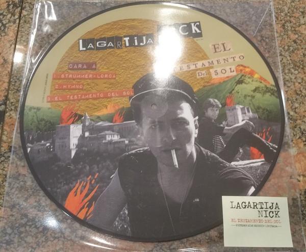 """Universal Music PICTURE DISC MINI-LP LAGARTIJA NICK """"EL TESTAMENTO DEL SOL"""""""