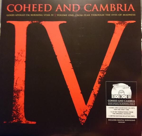 "Sony Music LP COHEED AND CAMBRIA ""GOOD APOLLO I'M BURNING STAR IV"""