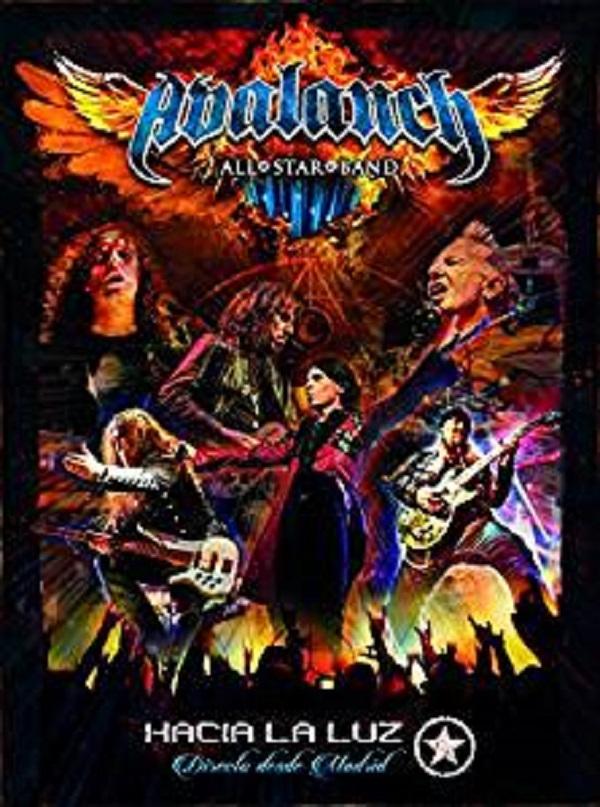 """The fish factory CD + DVD AVALANCHA """"HACIA LA LUZ"""""""