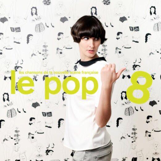 """LP VARIOS """"Le Pop 8 - Les Chansons De La Nouvelle Scène Française"""" 2LP"""