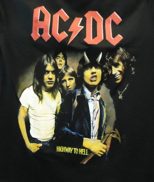 """CAMISETA AC/DC  """"Highway to hell"""""""""""