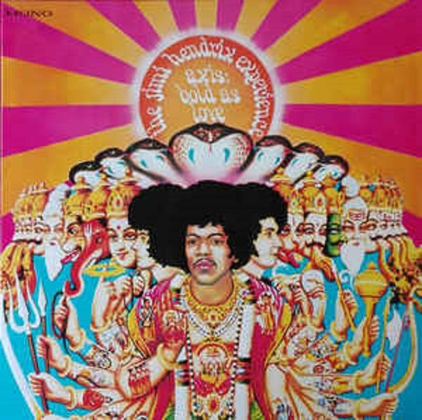 "Sony Music LP The Jimi Hendrix Experience ""Axis: Bold As Love"""