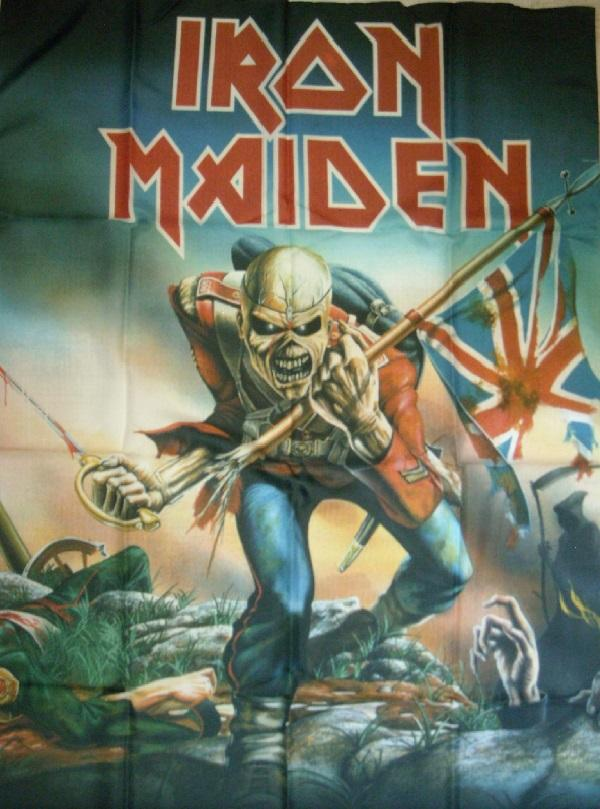 Bandera Iron Maiden Trooper