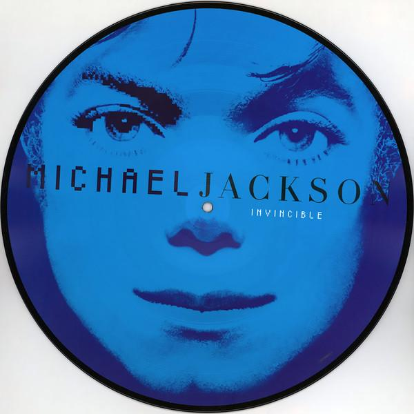"Sony Music Picture disc Michael Jackson ""Invincible"""