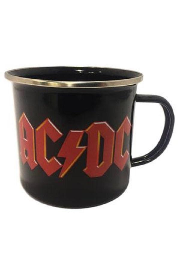 Taza de metal AC/DC