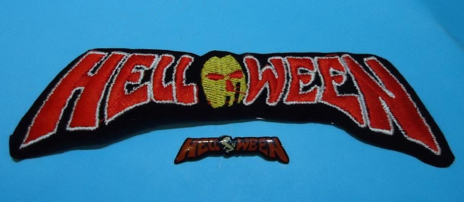 LOTE HELLOWEEN Pin + Parche