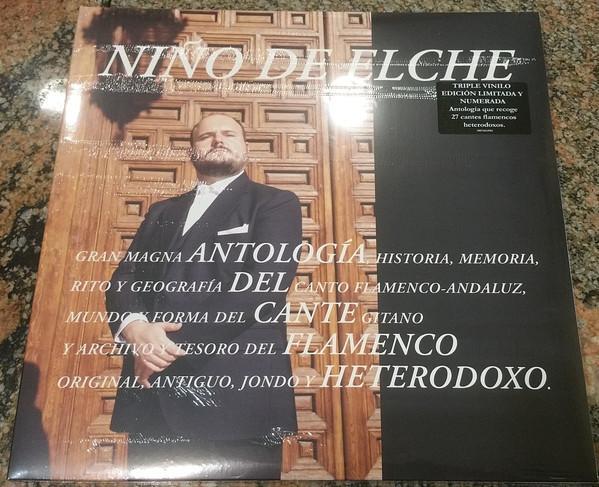 LP Niño De Elche – Antologia Del Cante Flamenco Heterodoxo 3LP