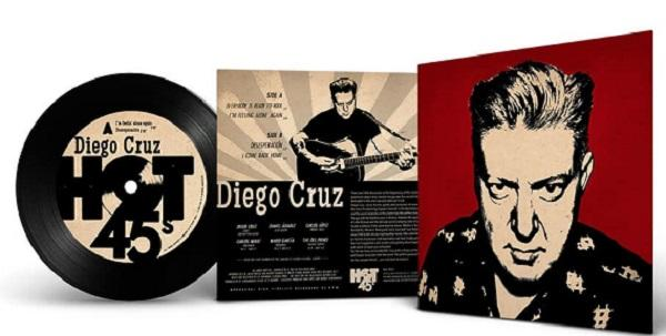 Hot 45 records EP Diego Cruz Everybody is ready to rock + 3