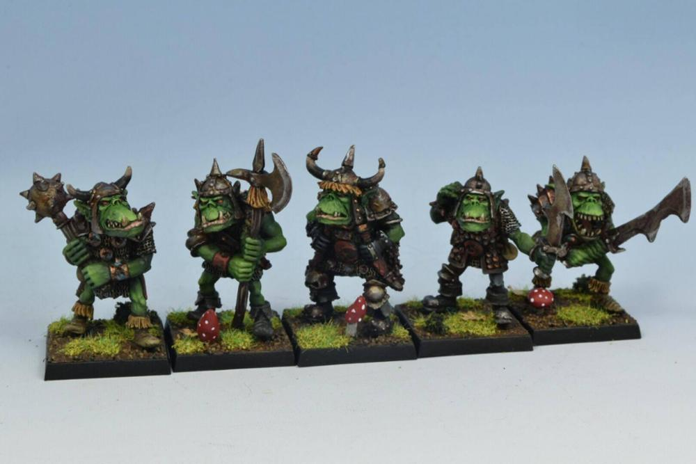 Orc warriors unit #1 (PRE-ORDER)