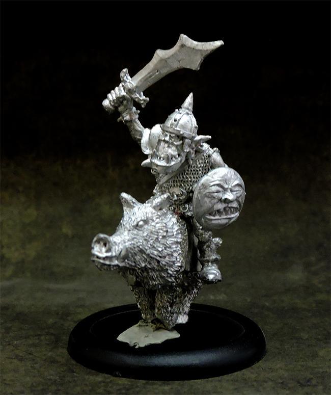 Orc boar rider #2  (PRE-ORDER)