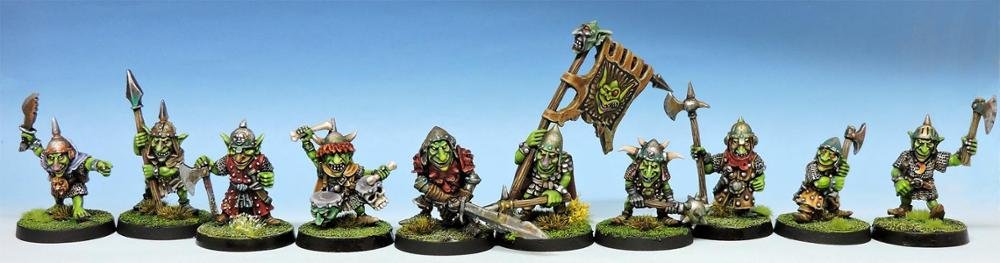 Hill Goblins regiment