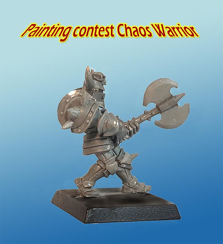 Chaos Warrior - Painting Contest (PRE-ORDER)