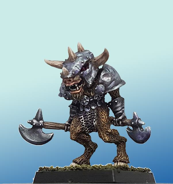 Armoured Beastman
