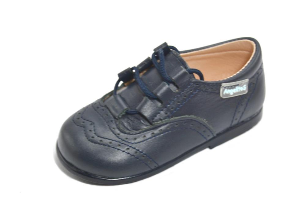 Zapatos Inglés Niño Azul Marino