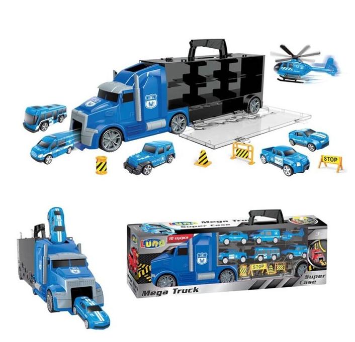 Truck Briefcase City 10 pieces