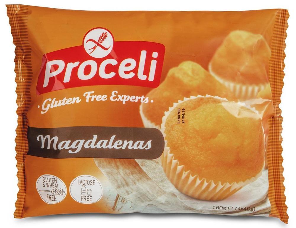 Proceli Magdalenas (4x40g)