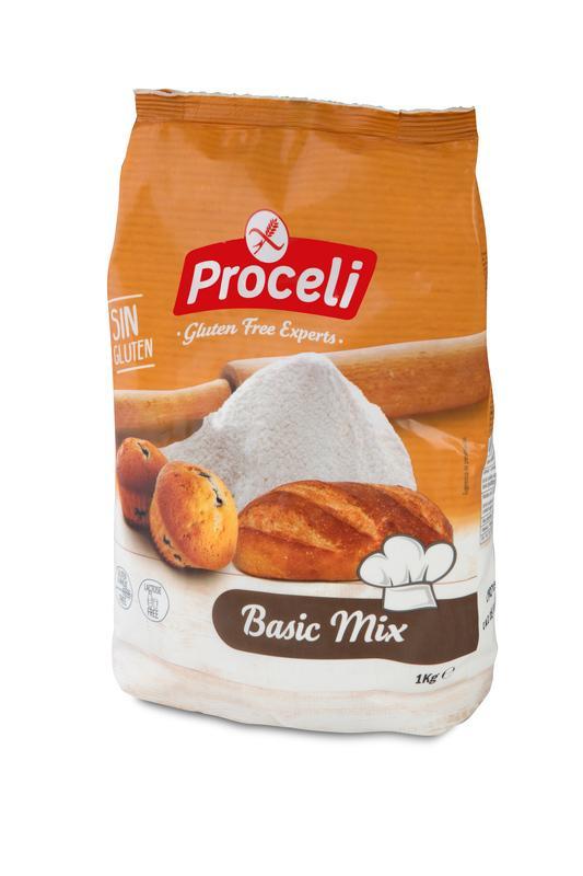 Basic Mix: preparado panificable sin gluten | Proceli
