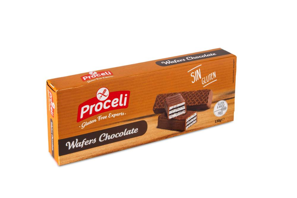 Galletas Sin Gluten – Choco Wafers | Proceli
