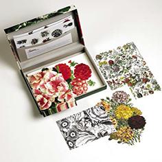 Set de Cartas Flower Prints Detalle