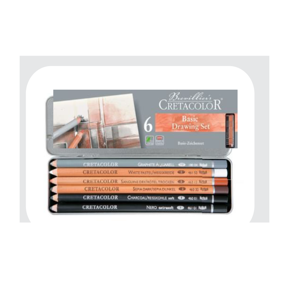 Cretacolor Basic Pencil Set