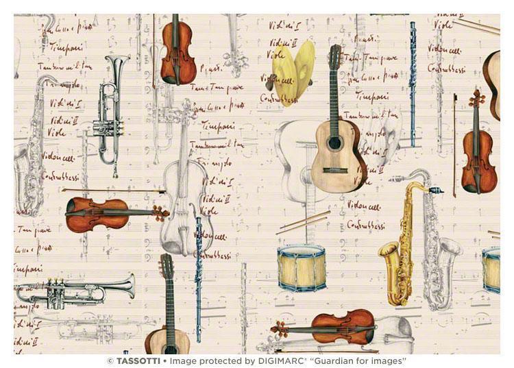 Partituras e instrumentos
