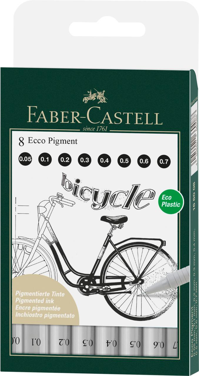Faber-Castell 8 Ecco Pigment Lettering