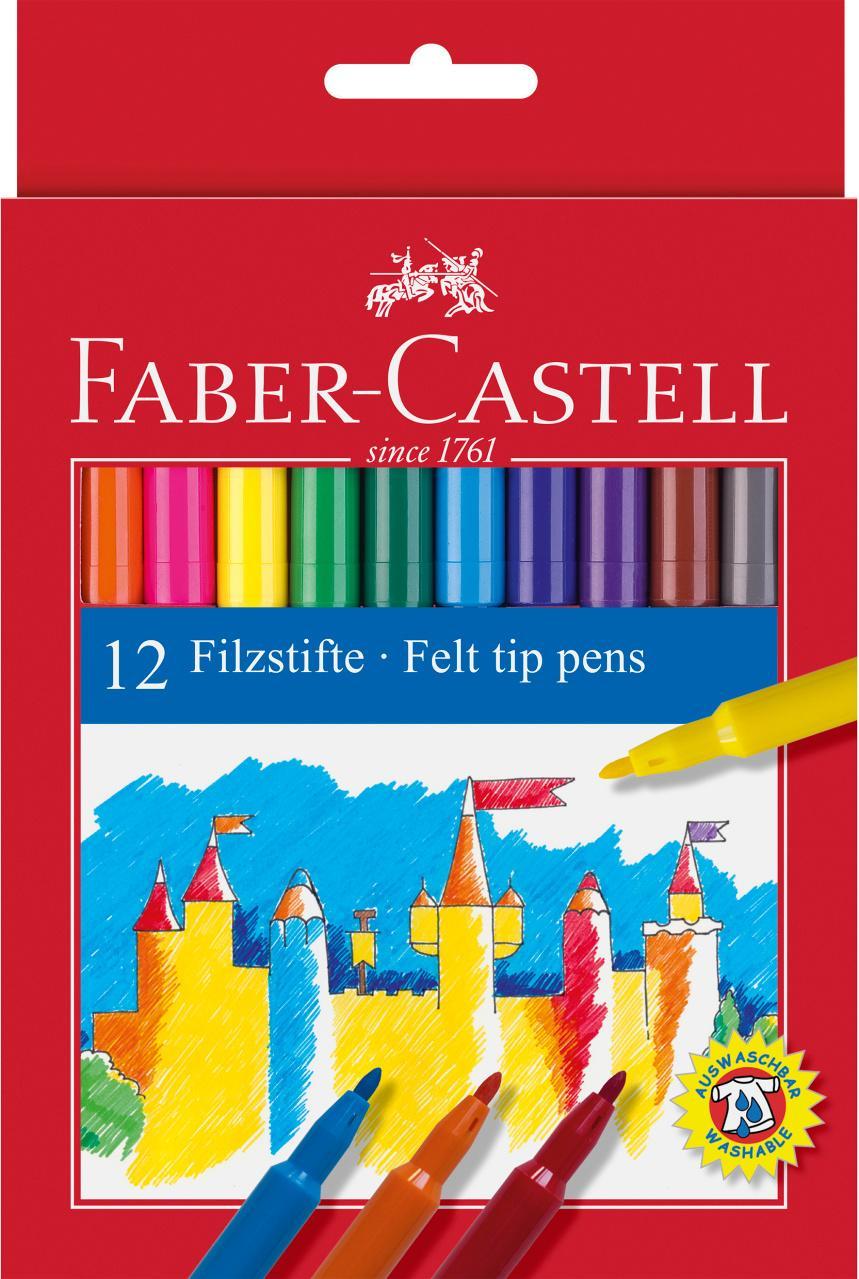Faber-Castell Rotuladores 12 Unidades