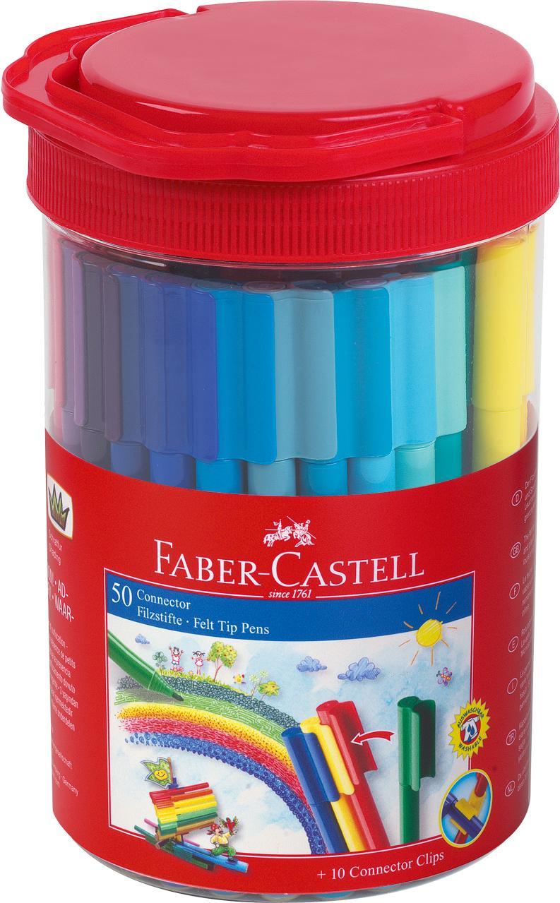 Faber-Castell Bote Rotuladores 50 Unidades