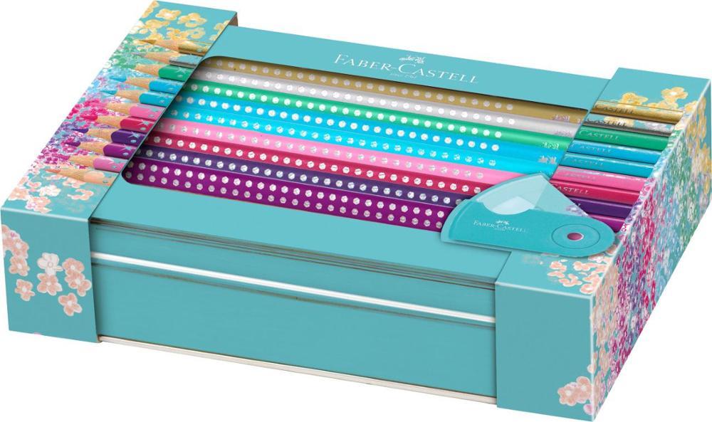 Faber-Castell Colour Grip Estuche Azul