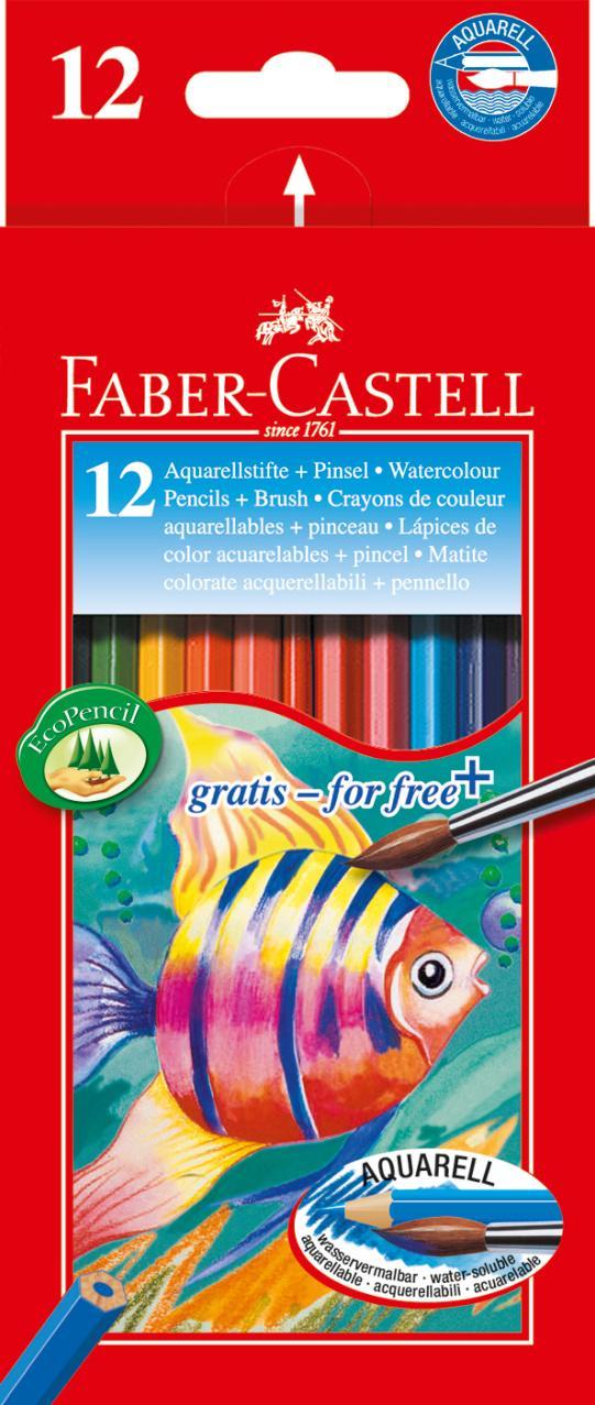 Faber-Castell Watercolour Pencils 12 Unidades