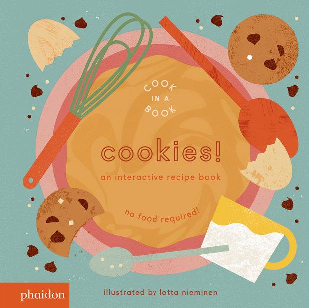 Editorial Phaidon Cookies! an interactive recipe book