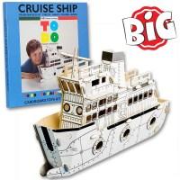 ToDo Talent Cardboard Cruise Ship