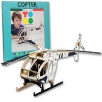 ToDo Talent Cardboard Copter - Helicóptero