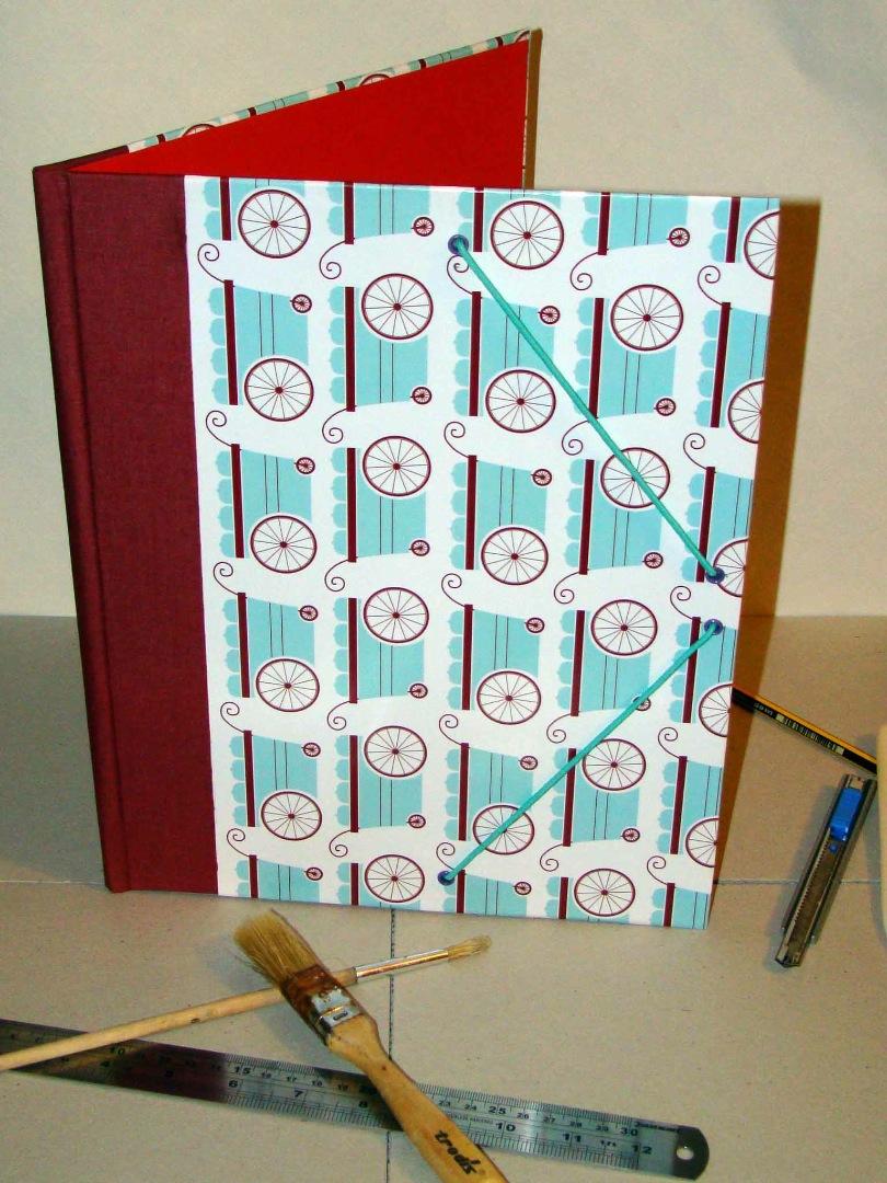 Cuadernos Artesanales Carpeta Carritos Sr. Nuno