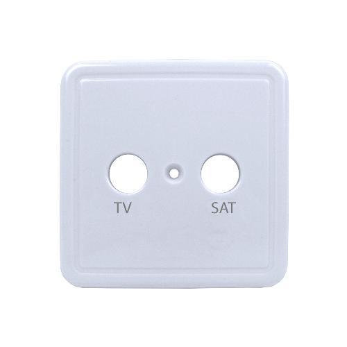 Tecatel Carátula Embellecedora Toma TV/SAT