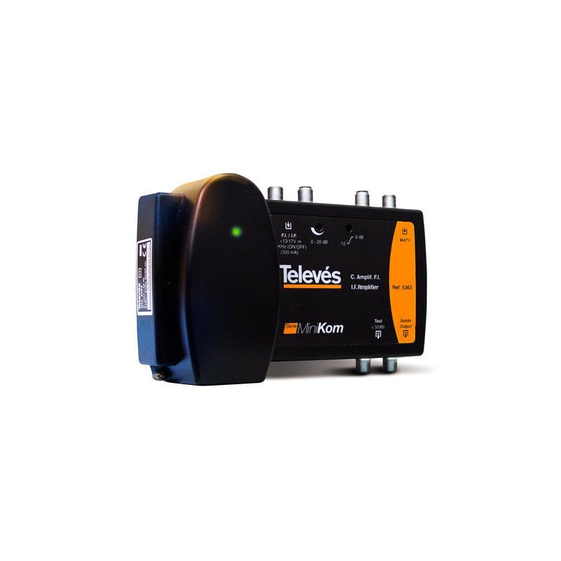 Televes Central Amplificadora Minikom FI 2e/1s