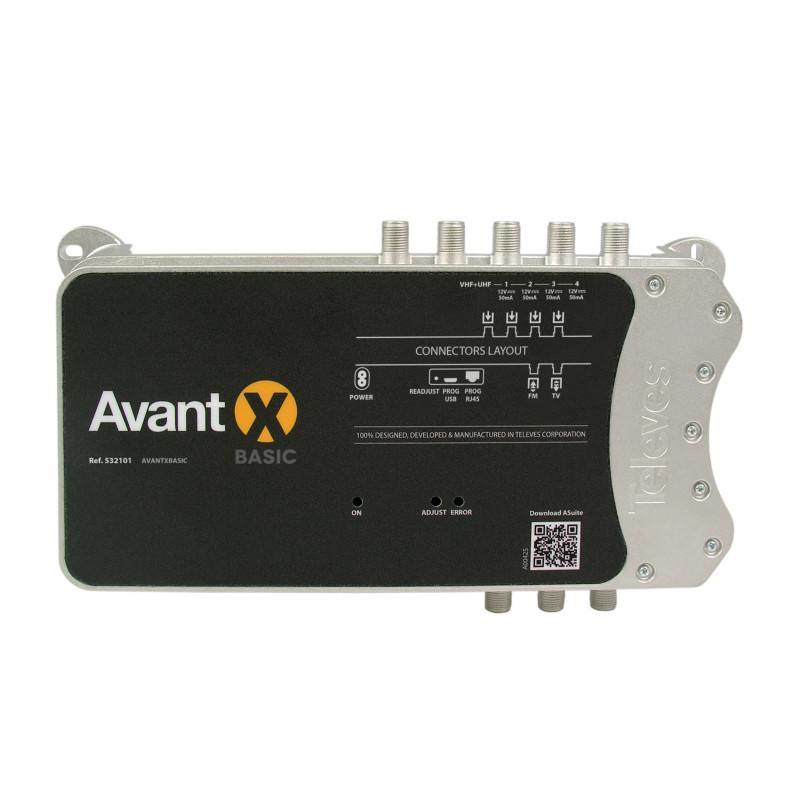 Televes Central Programable AVANT X Basic