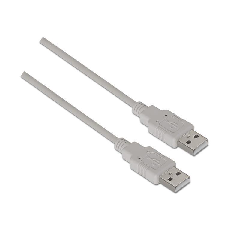 NanoCable Cable USB 2.0 A Macho a USB A Macho 2m